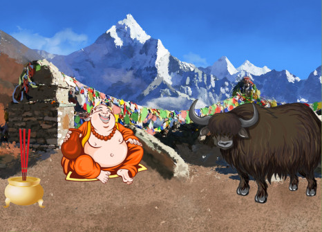 Evadez-vous au Népal avec vos compagnons!