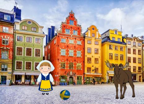 Evadez-vous avec le mois de la Suède sur Shinycatz !